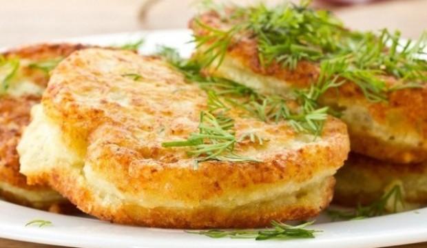 Зразы картофельные с шампиньонами