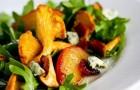 Салат из лисичек по-немецки