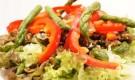 Салат из шампиньонов с апельсинами и сладким перцем