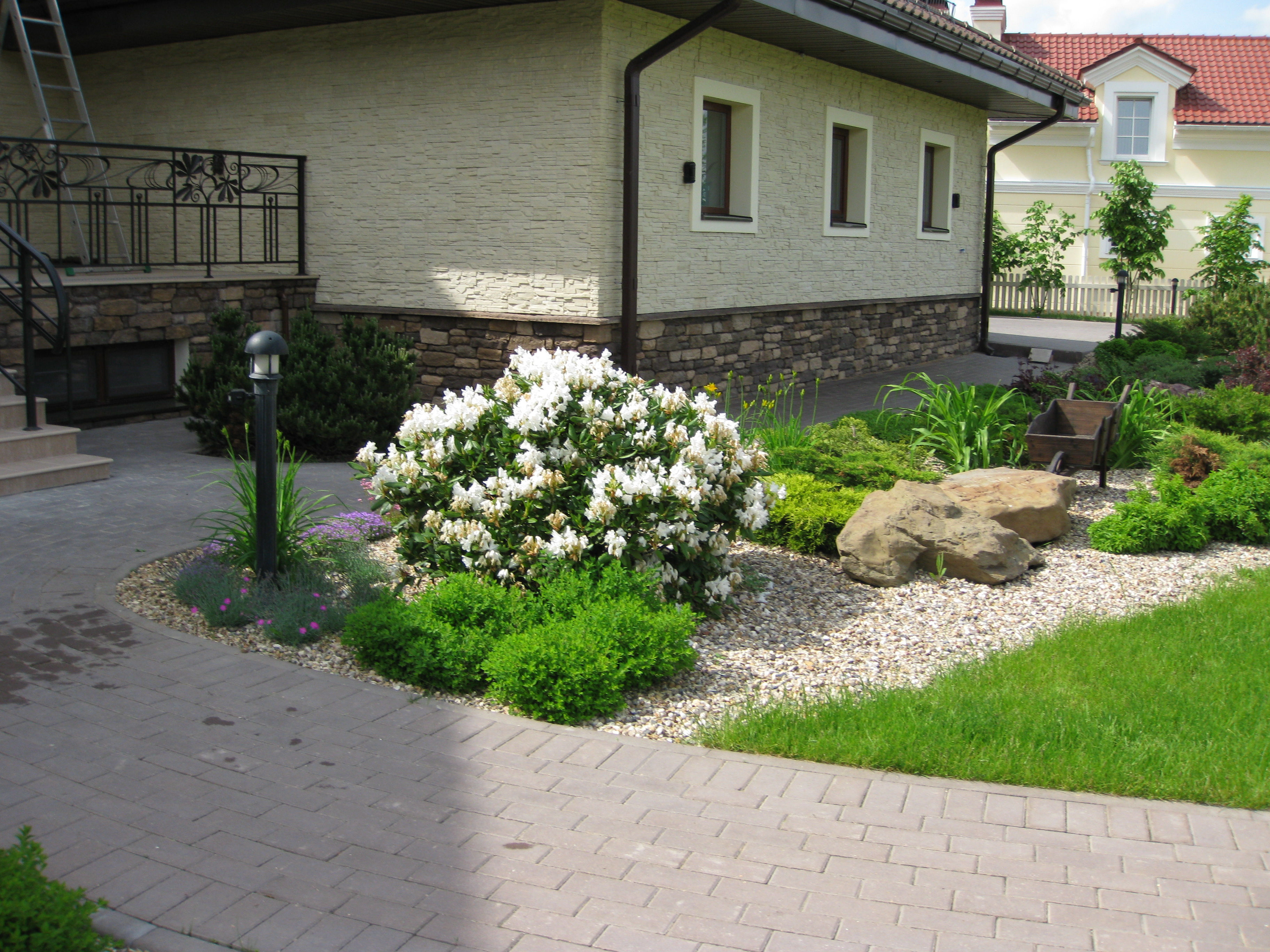 Фото дизайн ландшафта возле дома