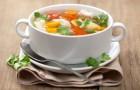 Диета при подагре — супы