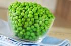 Зеленый сушеный горошек