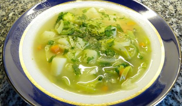 Рецепты вегетарианского стола: супы, супы-пюре, бульоны и др.