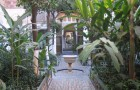 Сады дворца Аль Бахия