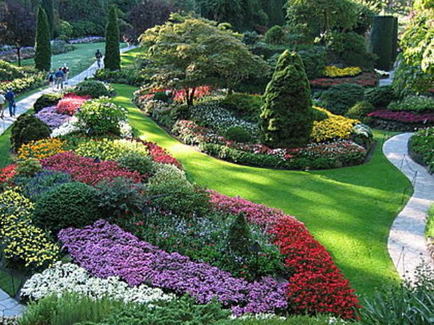 Ботанические сады парков Ниагары