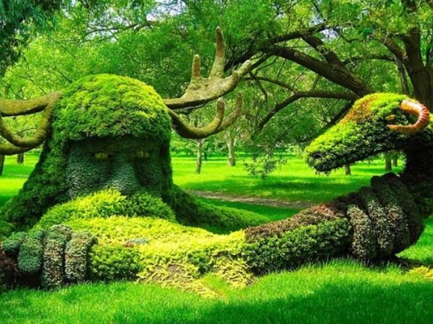 Ландшафтный дизайн интересные факты