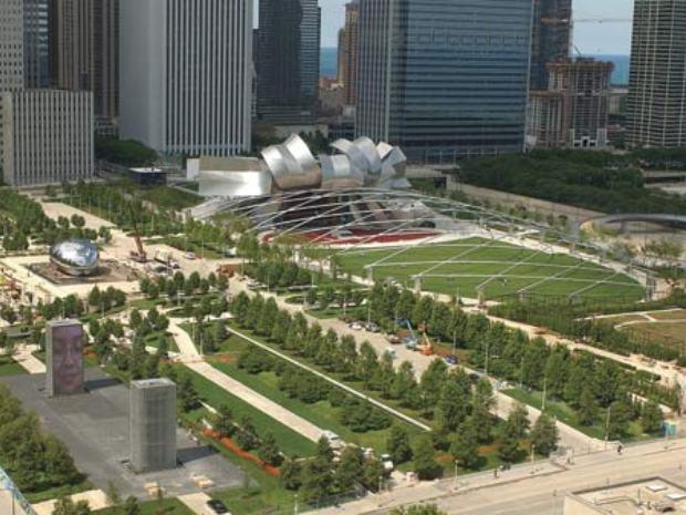 Чикагский Милленниум-парк