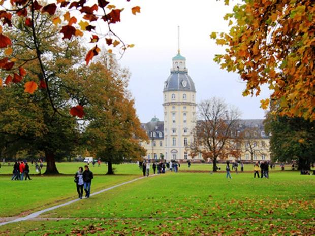 Дворцовый сад Карлсруэ