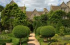 Сады при доме аббатства