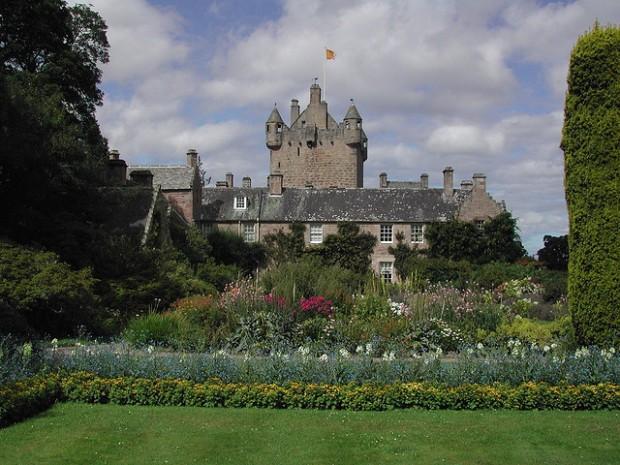 Сады замка Кавдор