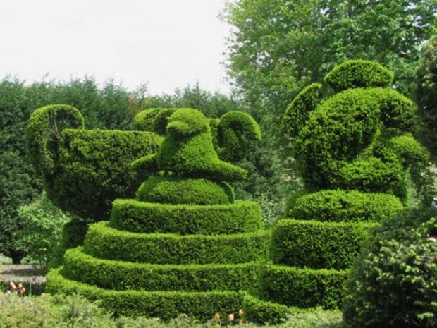 Топиарные сады Лэдью
