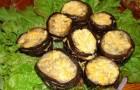 Баклажаны с чесноком в скороварке