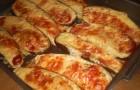 Баклажаны, запеченные с сыром в аэрогриле