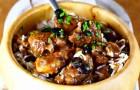 Баранина с маслинами и карри в скороварке