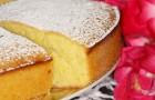 Бисквит лимонный в аэрогриле