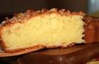 Бисквит сметанный в аэрогриле