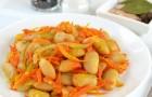 Фасоль с морковью в скороварке