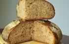 Французский цельнозерновой хлеб в хлебопечке