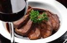 Говядина в винном соусе в арогриле