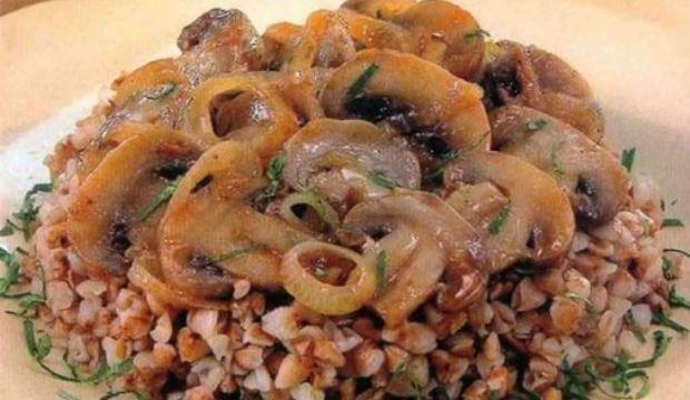 Гречневая каша с грибами в скороварке