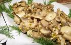 Грибы в горчичном соусе в аэрогриле