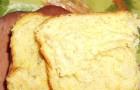 Хлеб с топленым молоком в хлебопечке