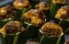 Индейка с цукини и грибами в скороварке