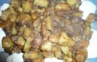 Картофель с маслятами в скороварке