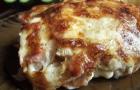 Картофель с ветчиной в пароварке
