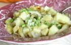 Картофель, тушенный с цветной капустой в скороварке