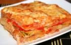 Картофельная запеканка с овощами в аэрогриле