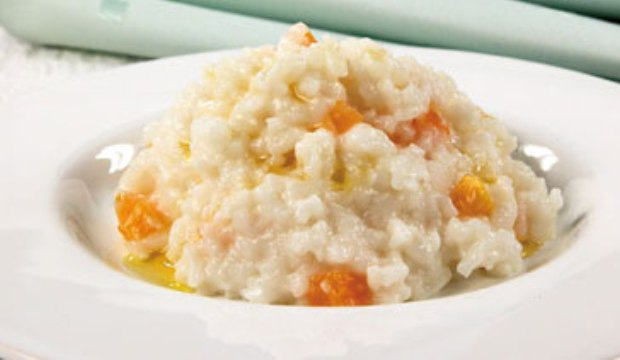 Каша рисовая с тыквой в аэрогриле