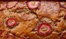 Клубнично-банановый хлеб в хлебопечке