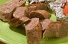 Колбаски из баранины в аэрогриле