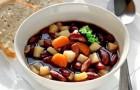 Красный фасолевый суп в пароварке