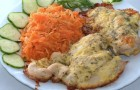 Курица с сыром в скороварке