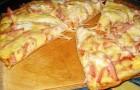Ленивая пицца в мультиварке