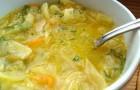 Луковый суп из телятины в скороварке