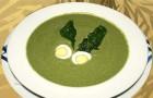 Луковый суп со шпинатом в скороварке