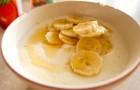 Манная каша с бананом в скороварке