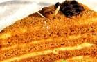 Медовик со сметанным кремом в мультиварке