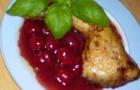 Окорок в вишневом соусе в пароварке