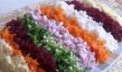 Овощная радуга в пароварке