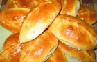 Пирожки с яблоками в аэрогриле