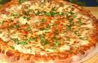 Пицца с курицей в аэрогриле