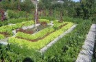 Подготовка гряд для овощных культур