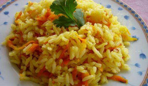Рисовая каша с морковью в скороварке