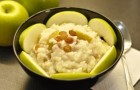 Рисовая каша с яблоком и грушей в скороварке