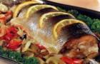 Рыба «Рождественская» в скороварке