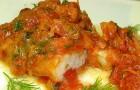 Рыба с сыром под маринадом в мультиварке